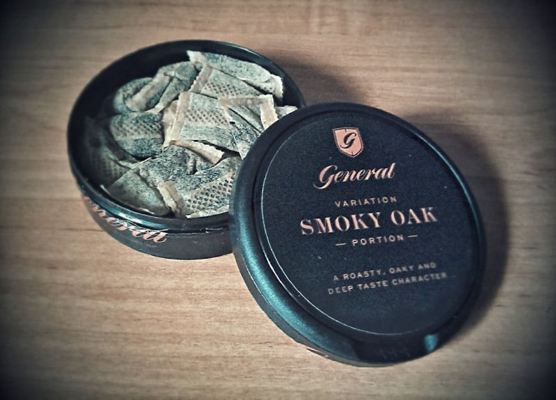 General Smoky Oak SNUS